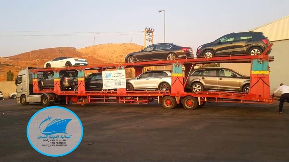 Car Transport Rates >> Land Shipping For Cars From Uae Dubai Abu Dhabi To Lebanon
